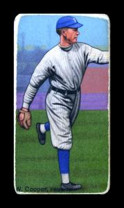 Picture of Helmar Brewing Baseball Card of Wilber Cooper, card number 540 from series T206-Helmar