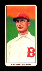 Picture of Helmar Brewing Baseball Card of Frank Bowerman, card number 98 from series T206-Helmar