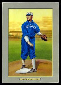 Picture of Helmar Brewing Baseball Card of George DAVIS (HOF), card number 106 from series T3-Helmar