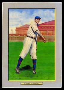 Picture of Helmar Brewing Baseball Card of Vic WILLIS (HOF), card number 15 from series T3-Helmar
