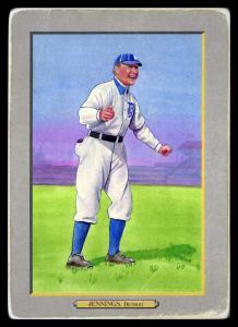 Picture of Helmar Brewing Baseball Card of Hughie JENNINGS (HOF), card number 32 from series T3-Helmar
