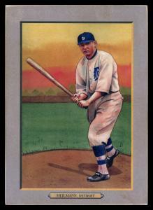 Picture of Helmar Brewing Baseball Card of Harry HEILMANN (HOF), card number 60 from series T3-Helmar